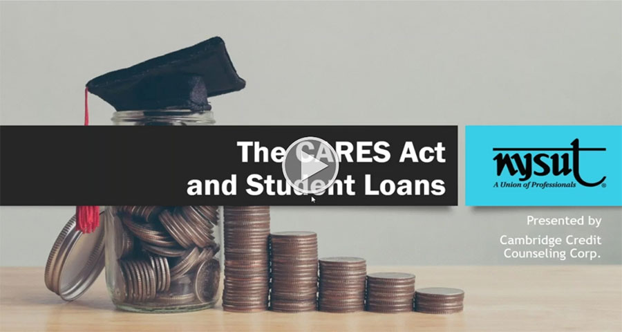 The CARES Act and Student Loans